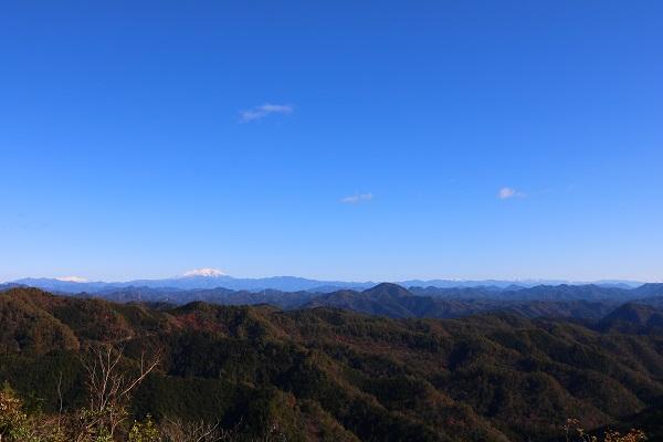 平成の山山頂からの眺望