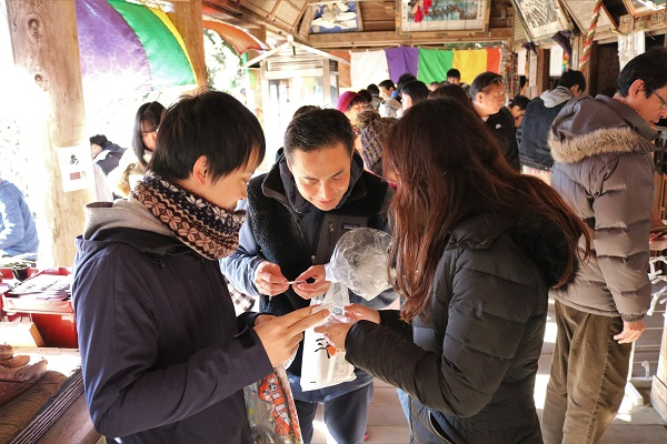 日龍峯寺(高澤観音)2019年の初詣の様子