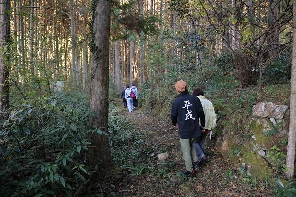 森勝五郎佑近の屋敷跡めぐり