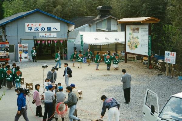 当時平成地区にあった売店