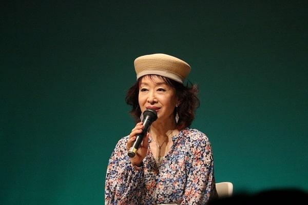女優三田佳子さん