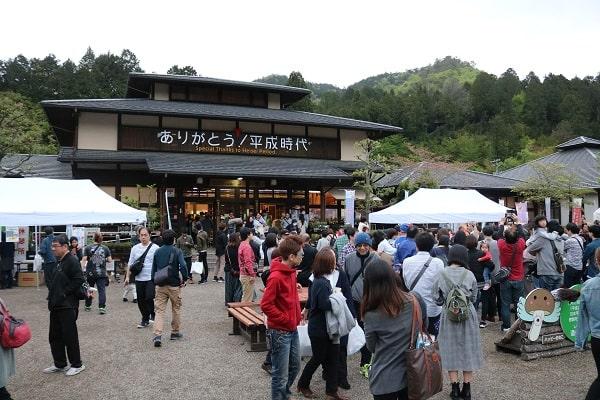 平成最後の日には、道の駅平成に1万人が来場