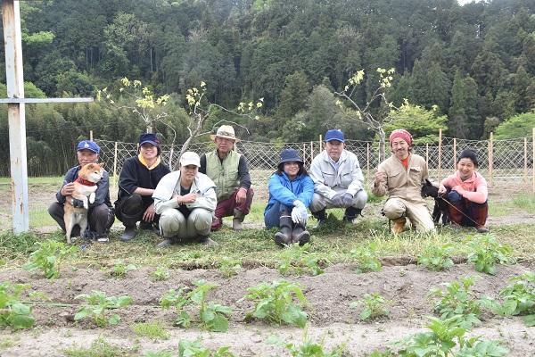 おくどのパッション畑開園に協力した人々