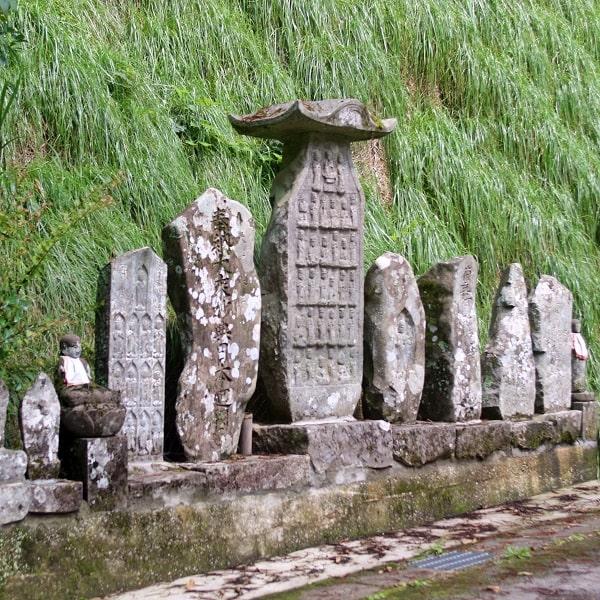 関市上之保地域(倉洞)の西国三十三観音塔