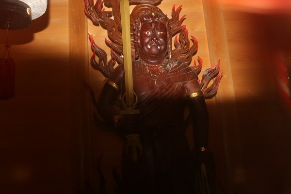 不動明王像の迫力