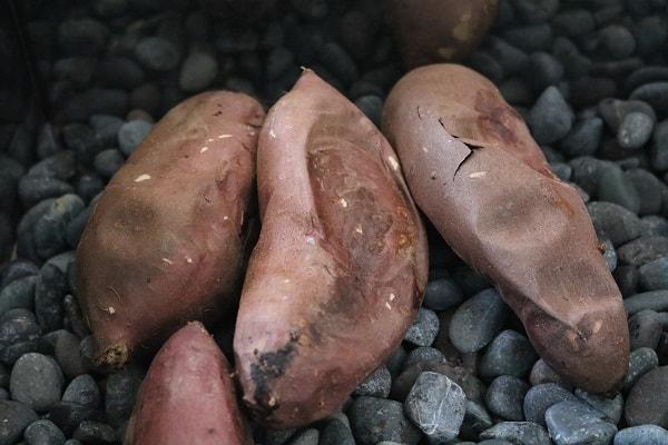 超甘い焼き芋の販売@であいファーム