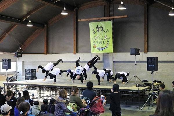 ミノB-BOYS&B-GIRLSブレイクダンスショー