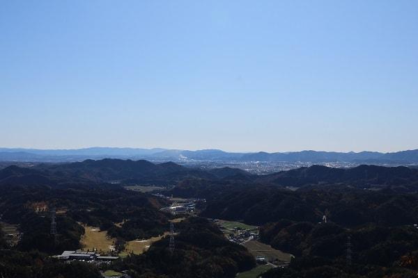 本城山中間眺望地点もよい眺め