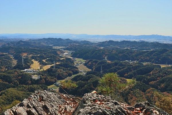 本城山頂上からの展望