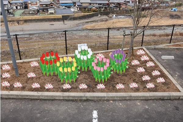 花が咲いたころのイメージ図
