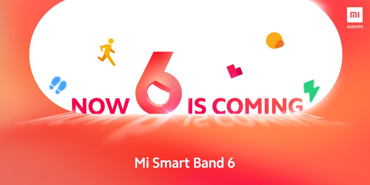 Miband6予告画像