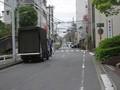 [まち][tokyo][ohmori][川]内川流路あと、大森赤十字病院前