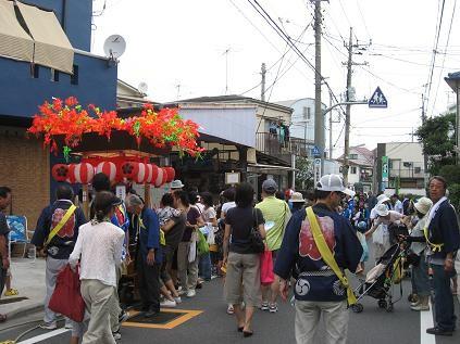 2008年9月14日、北野神社の秋の例大祭