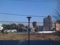 [まち][川][tokyo][magome]2008年12月20日、内川あとを子供たちと自転車で走りました