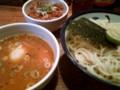 [つけ麺]]めん徳二代目つじ田神田御茶ノ水店にて。二代目つけめん大盛り+チャ
