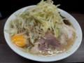 [ラーメン二郎]ラーメン二郎横浜関内店にて。大ぶた+生たまご。(20120622)