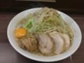 [ラーメン二郎]ラーメン二郎横浜関内店にて。大ぶた+生たまご。(20121103)
