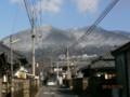 筑波山 雪化粧