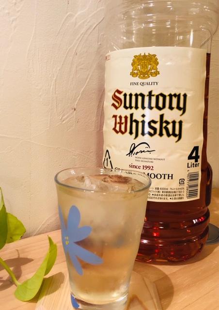 サントリー ウイスキー 角 白
