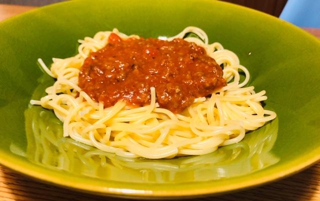 パスタ ミートソース ミートスパゲティ