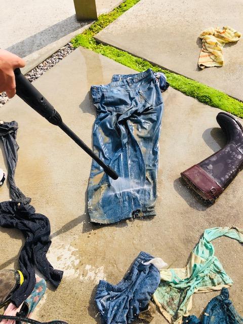 泥汚れ きれいにする やり方