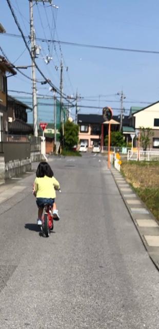 保育園 自転車 送り