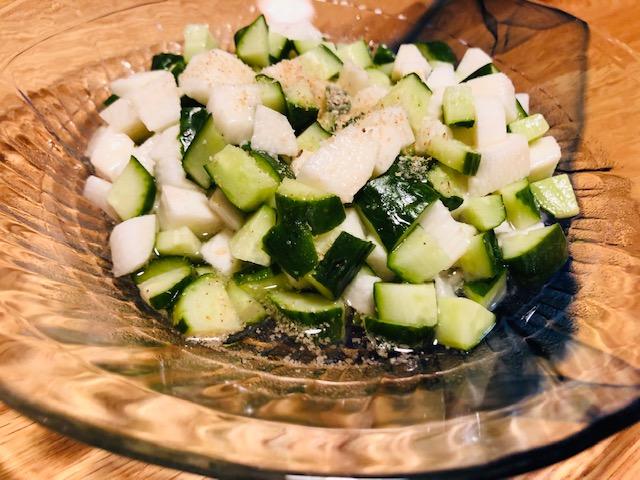 山芋 きゅうり レシピ