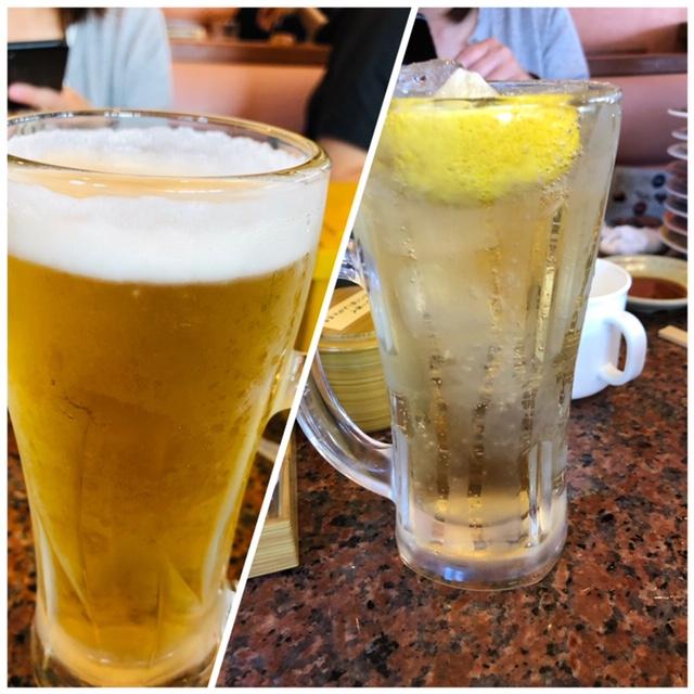 ビール ハイボール 飲み方