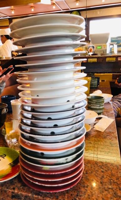 回転寿司 皿 数え方