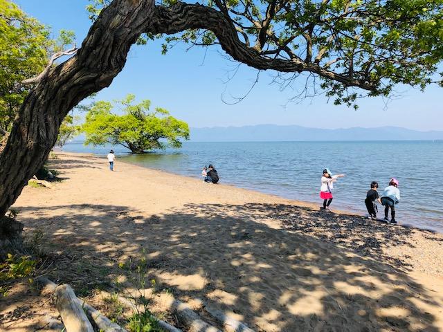 琵琶湖 キャンプ 場所