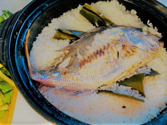鯛飯 レシピ キャンプ料理