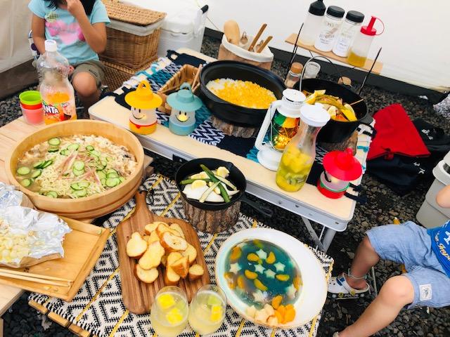 キャンプご飯 レシピ キャンプ料理