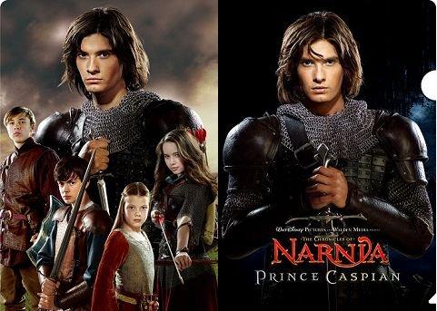 『ナルニア国物語 第2章:カスピアン王子の角笛』 クリアファイルB AG-1024