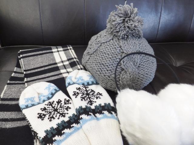 真冬の防寒対策 野球観戦