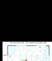 Hi-net自動処理震源マップより福島県 ・ 最新7日間 の震央分布図