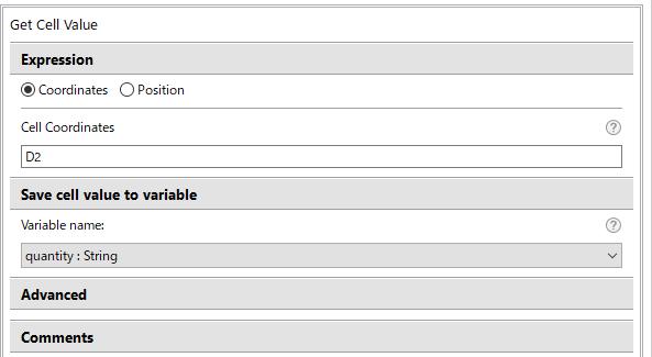 D2列の販売実績もString型のquantityに入れる