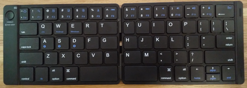 iOSにもAndroidにも対応しているキーボード