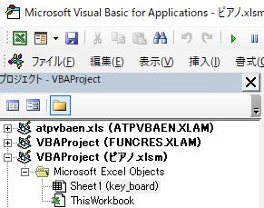 イベントプロシジャにはシートモジュールなどオブジェクトにくっついたモジュールを利用する