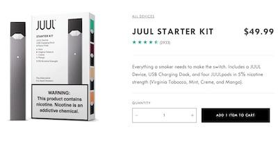 JUUL公式サイト