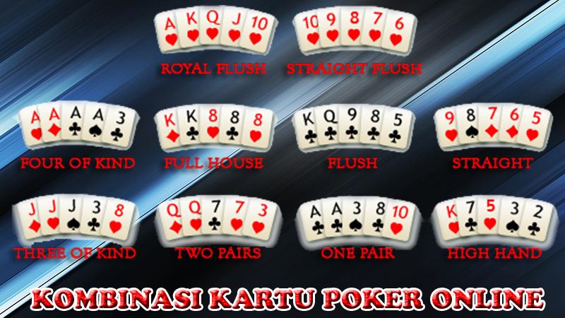 Susunan Kombinasi Kartu Poker Online Situs Pkv Games Mutiarapkv S Blog