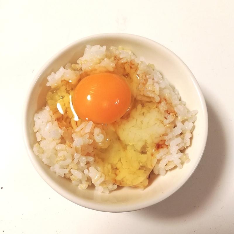 らでぃっしゅぼーやのおためしセットの卵