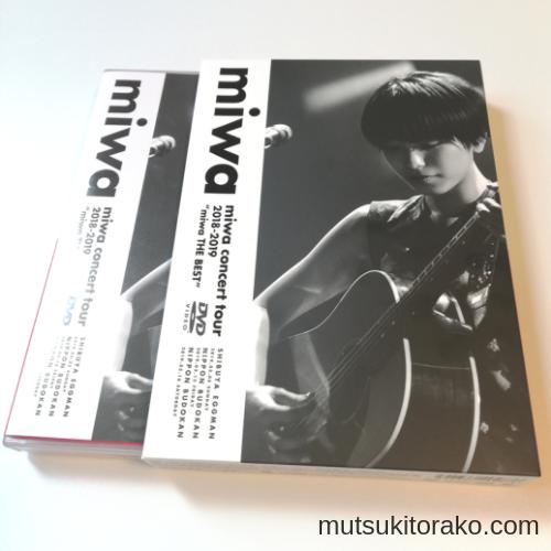 miwaベストアルバムツアーライブDVD初回特典の三方背スリーブケース(右)