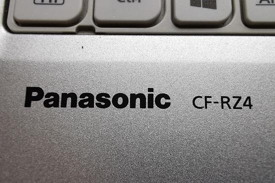 レッツノート CF-RZ4ロゴ