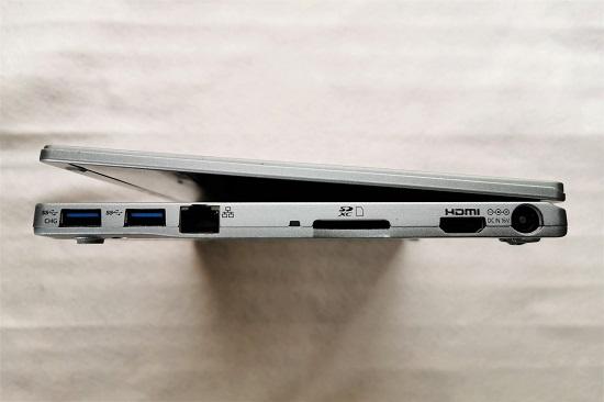 レッツノート CF-RZ4 正面右側の写真