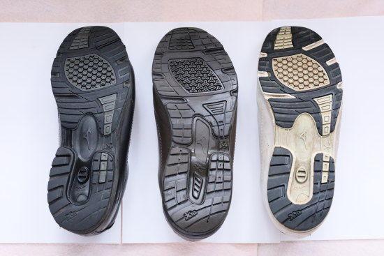 ミズノウォーキングシューズLD40の靴底
