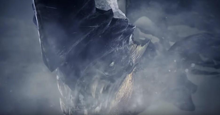 MHW アイスボーン 凍魚竜 ブラントドス