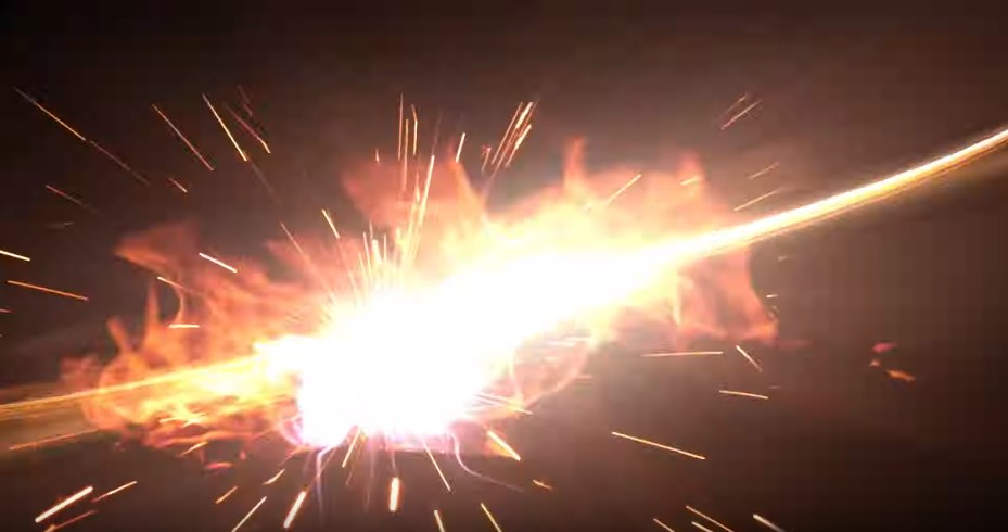MHW アイスボーン 火花を散らす激しい一閃