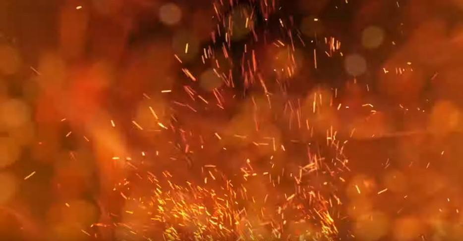 MHW アイスボーン その後激しい炎が燃え盛る