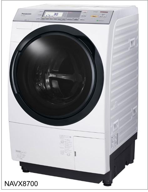 全自動乾燥洗濯機のお世話になる-パナソニックのNAVX8700