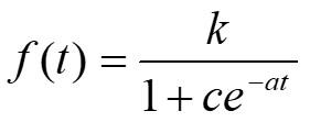 ロジスティック曲線式